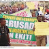 BREAKING:  Ekiti Protesters Demand Governor Fayose's Resignation over N4.7 Billion Fraud