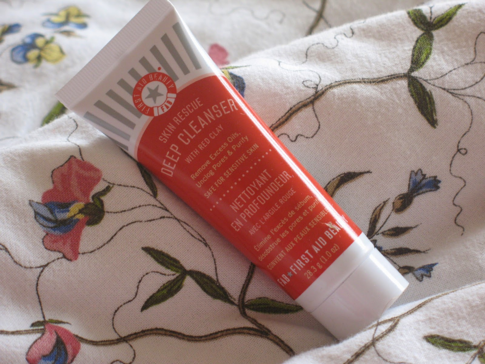 FAB Cleanser, First Aid Beauty, Red Clay