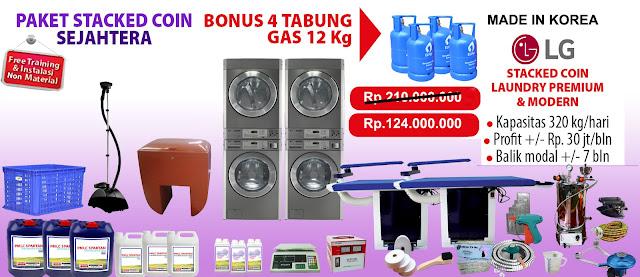 Mesin Laundry Koin Jakarta