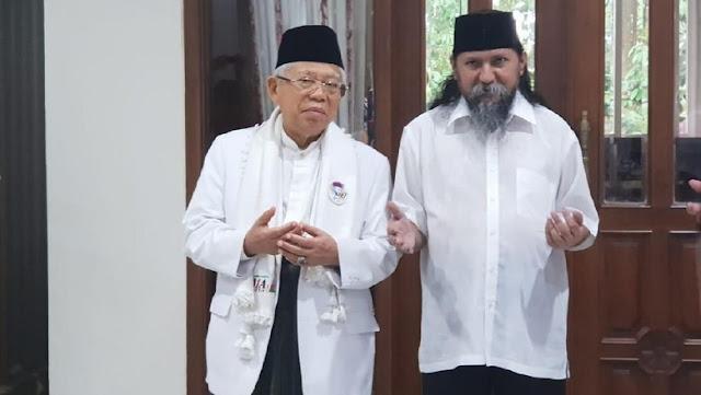 Habib Ja'far Alkaff Mendo'akan KH Maruf Amin Menang Pilpres