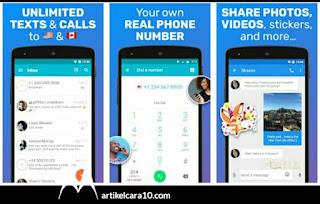 TextMe Up Free Calling Texts