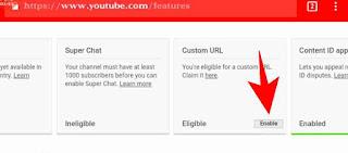 Youtube channel custom url set kaise kare 3