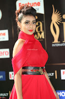 Apoorva in a Stunning Tight Leg Split Sleeveless Red Gown at IIFA Utsavam Awards 24.JPG
