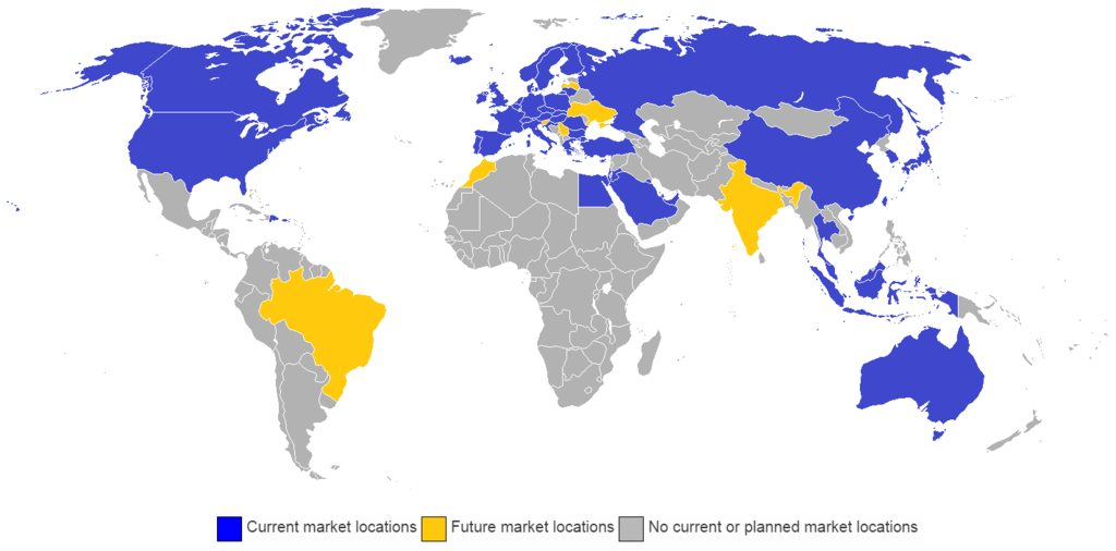 Landkartenblog Das Ikea Weltreich Die Nordhalbkugel Ist