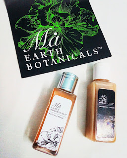 Review Hair Cleanser and Hair Conditioner by Ma Earth Botanicals