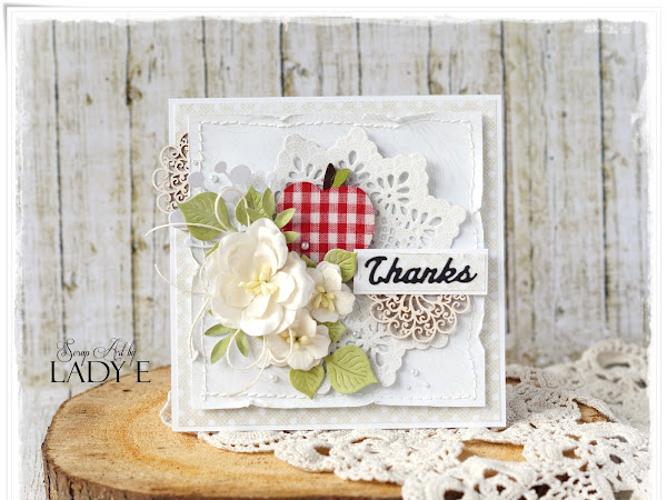 Shabby Chic Thank you Cards for Teachers