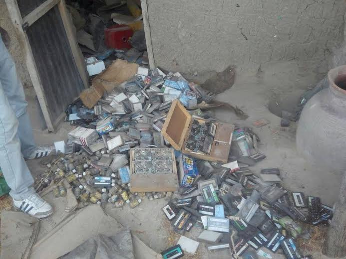 0 Photos: Troops discover Boko Haram's bomb factory in Borno