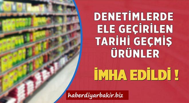 Diyarbakır Büyükşehir Belediyesi 1 ton bozuk gıda maddesine el koydu