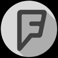 foursquare whiteout icon