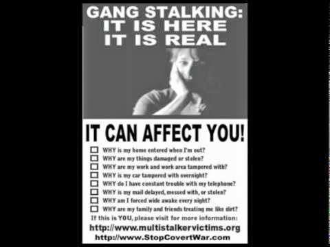 Thinking Aloud   : GANG STALKING - A HELLISH CRIME
