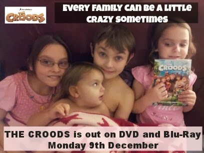 , Great Christmas Stocking Filler:  THE CROODS DVD
