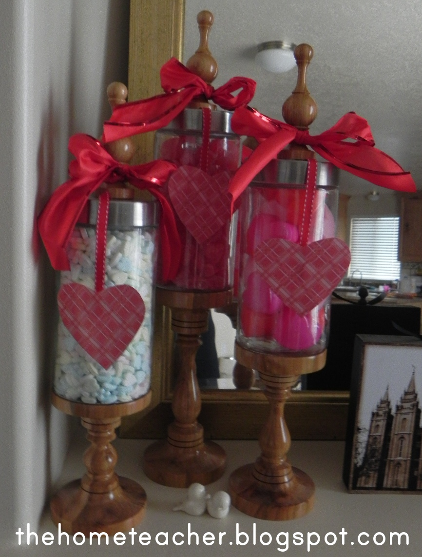 Valentine Apothecary Jars The Home Teacher