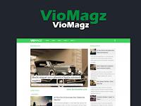 Vio Magz AMP Respomsive Blogger Template