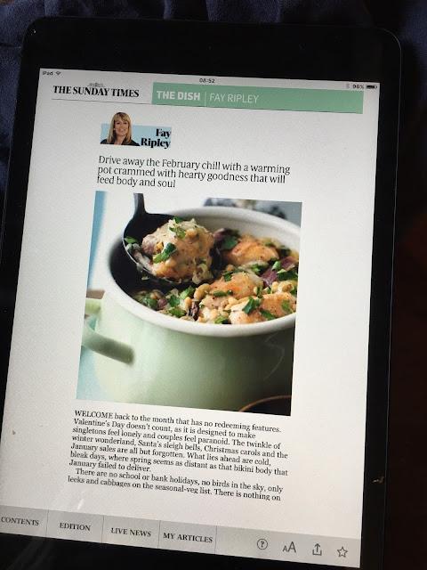 Fay Ripley recipe online
