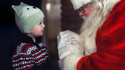 Meeting with Santa Claus