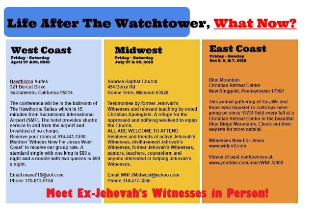 ex jehovahs witnesses sites