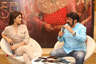Shriya Saran Nandamuri Balakrishna at Gautamiputra Satakarni Team Press Meet Stills  0163.JPG