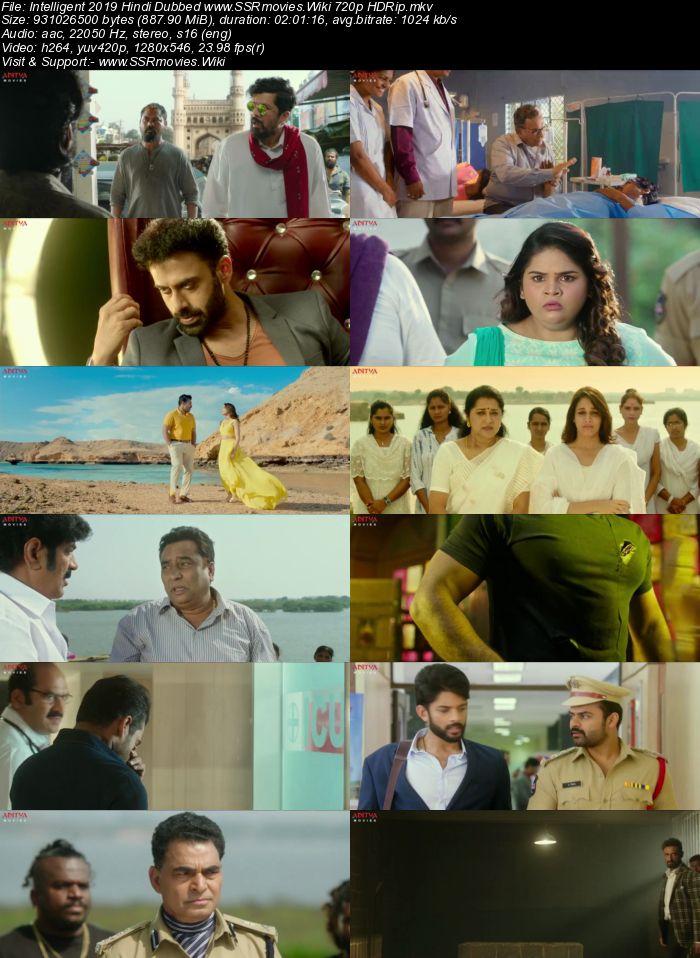 Intelligent (2019) Hindi Dubbed 720p HDRip x264 850MB Movie Download