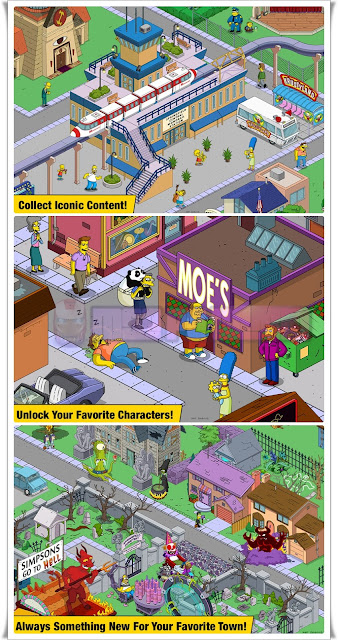 Simpsons-Tapped-Out-mod-apk-Screenshots