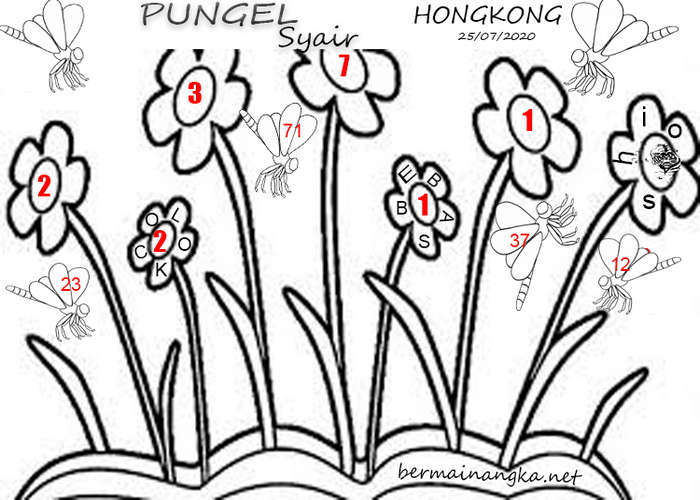 Kode syair Hongkong Sabtu 25 Juli 2020 147