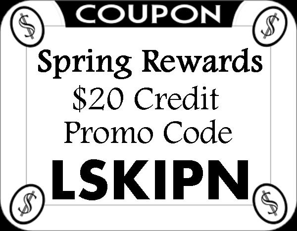 Spring Rewards App Promo Codes 2016-2017, Spring Rewards App Referral Codes August, September, October