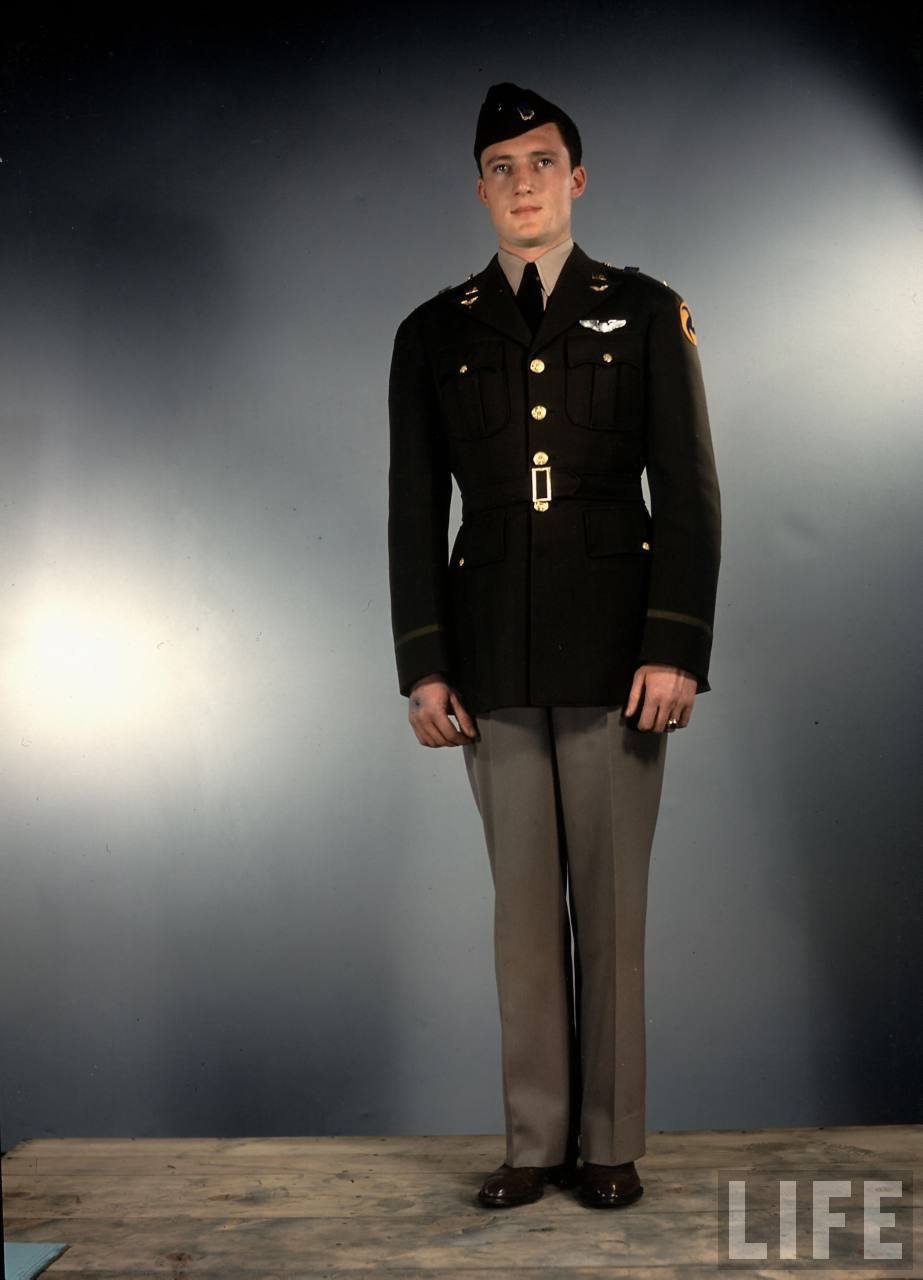 Amazing Color Photos That Show U.S Army Uniforms in World ...