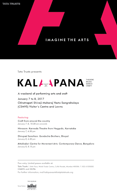 Tata Trusts introduces 'Kalapana', a specially curated festival featuring lead performing artists and craftsmen.