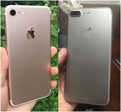 Một hình ảnh về iPhone 7  và iPhone 7 Plus  được xuất hiện trên Internet