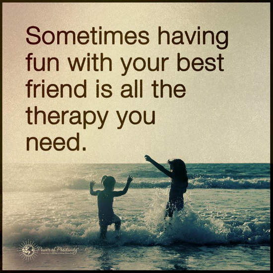 Sometimes having fun with your best friend is all the ...