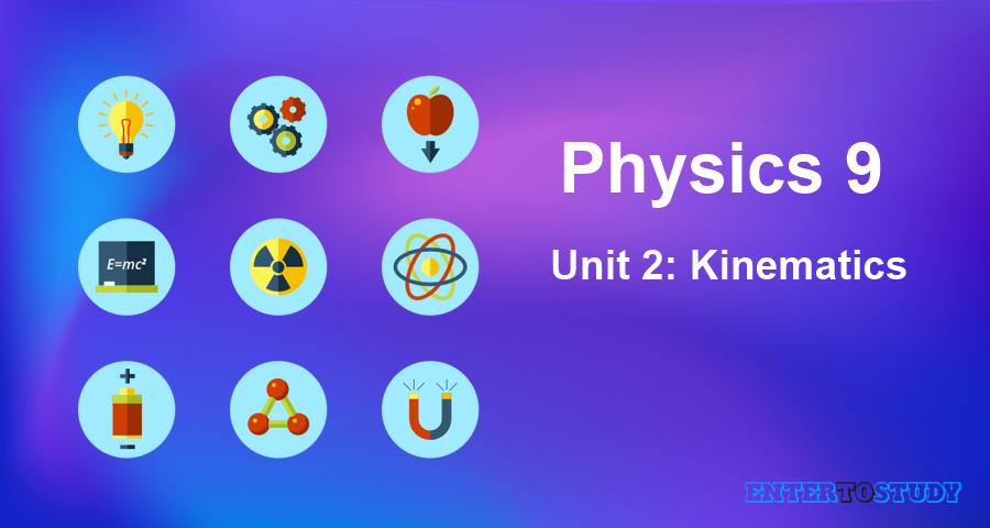 KIPS 9th Class Physics Notes Unit 2: Kinematics