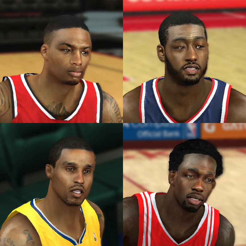 NBA 2K14 Mod Face Update Pack #7