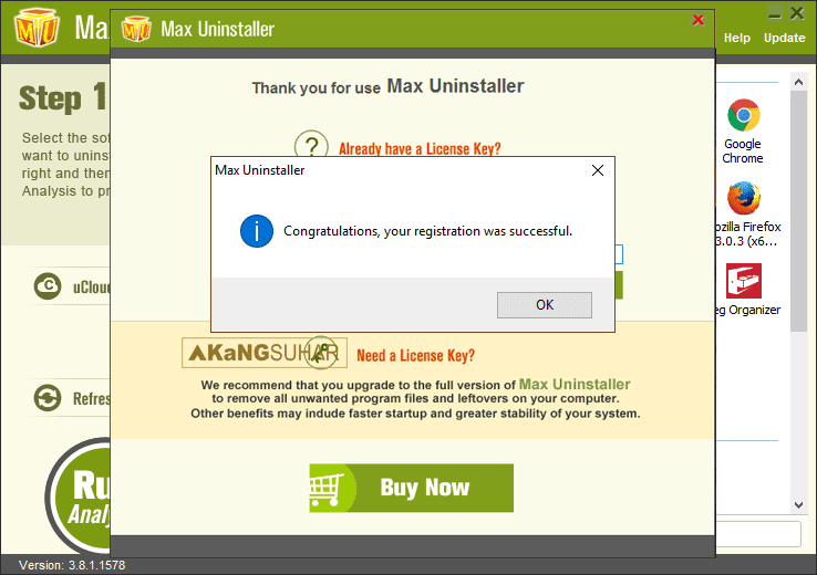 Download Max Uninstaller 3 Final Full serial number terbaru