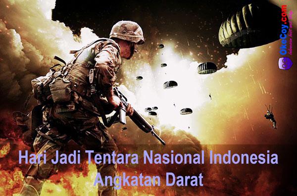 hari jadi tentara nasional indonesia angkatan darat nasional