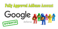 fully approved adsense account