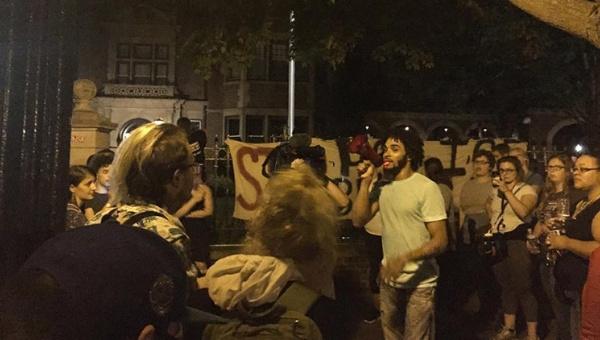 EE.UU.: Evacúan a gobernador de Minnesota por protestas