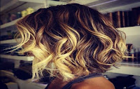 Have a natural look with hair «ombre»