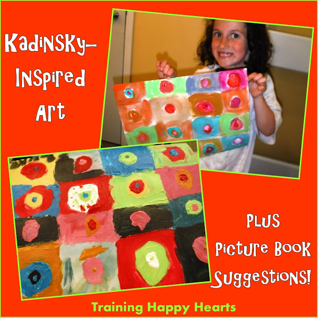 http://traininghappyhearts.blogspot.com/2015/06/paint-and-read-kadinsky.html