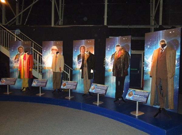 Doctor Who costume exhibit