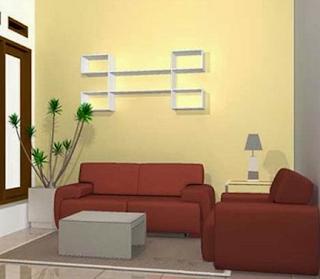 Penataan ruang tamu rumah sederhana