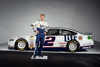 Brad Keselowski,  driver of the No. 2 Ford for Team Penske in the Monster Energy NASCAR Cup Series