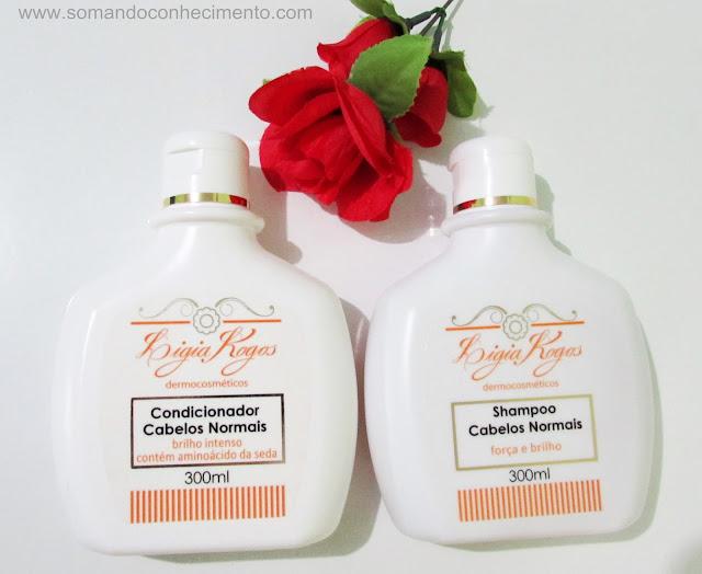 shampoo e condicionador Ligia Kogos