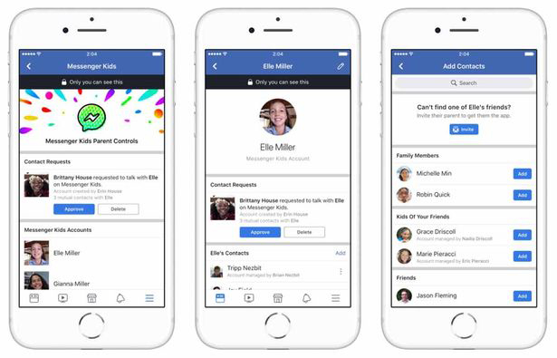 Facebook launches Messenger Kids app for children as young as SIX