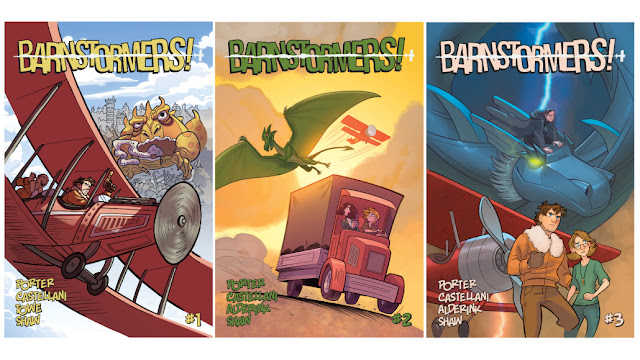 Barnstormers Graphic Novel Covers