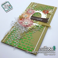 Stampin' Up! Mixed Media Card Idea order craft products from Mitosu Crafts UK Online Shop