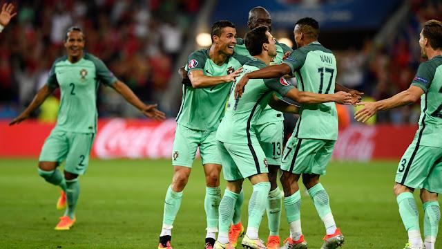 Portugal 2-0 Wales : Selecao Memang Punya Ilmu Hitam