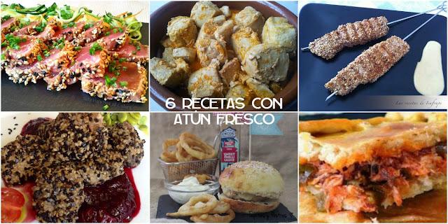 6 Recetas con atún fresco sanas y deliciosas