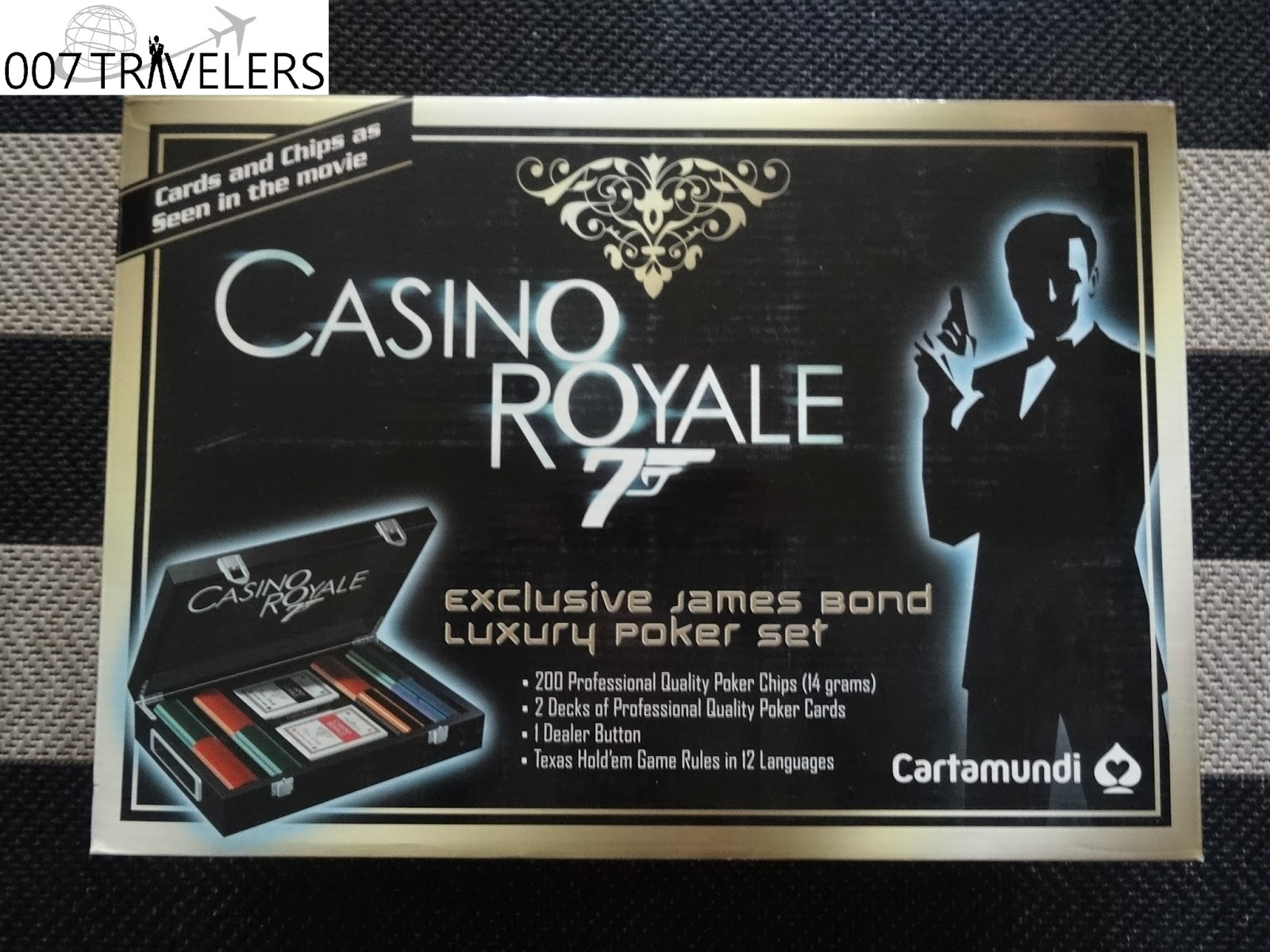 James Bond Casino Royale Poker Set