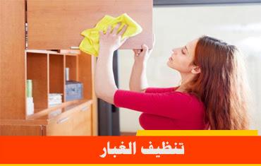 تنظيف الغبار