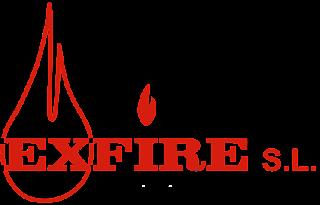 extintores en paracuellos, madrid, logo exfire