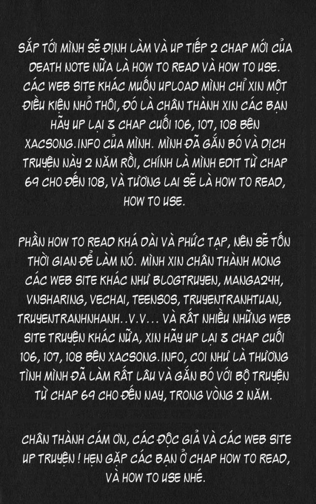 Death Note chapter 108 trang 1